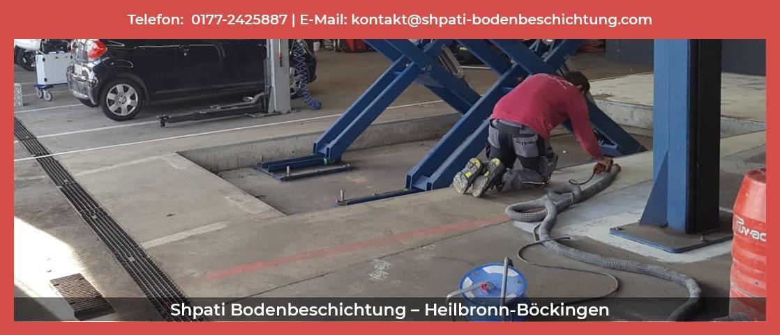 Bodenbeschichtung  Rot (See) - Shpati: Tiefgaragen Sanierung, Bodenimprägnierung, Garagenversiegelung